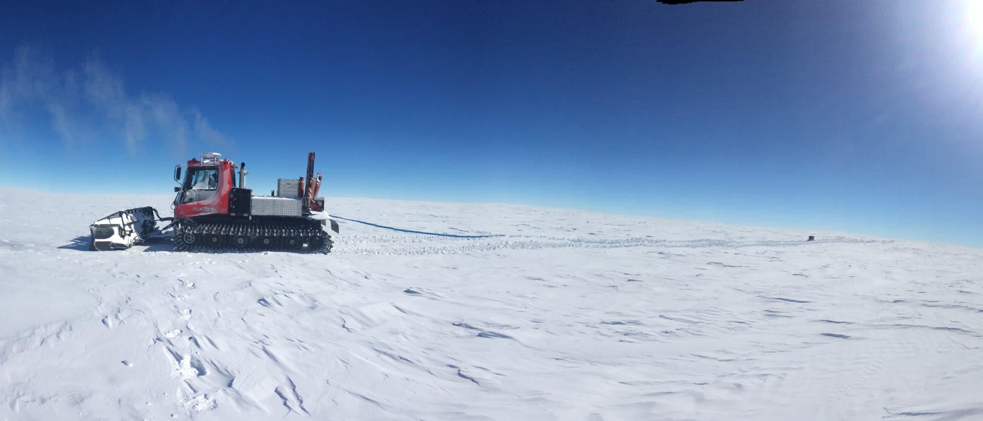 »Little Dome C«: Standort der Eisbohrung in der Antarktis