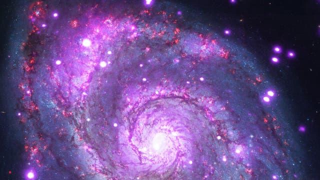 Kompositbild der Whirlpool Galaxie M51