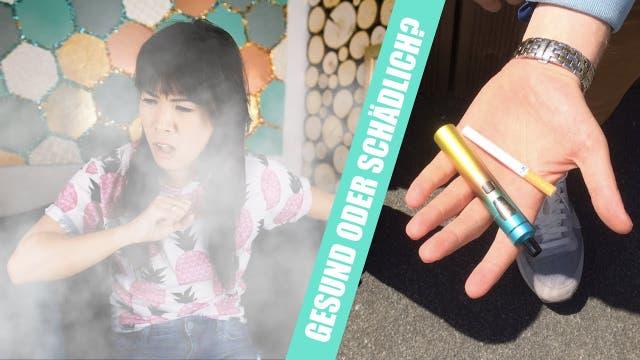 Sind E-Zigaretten eine gute Alternative?