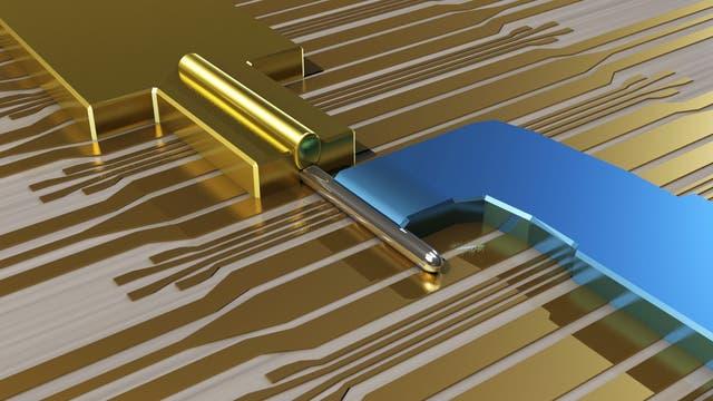 Majorana-Fermionen im Nanodraht