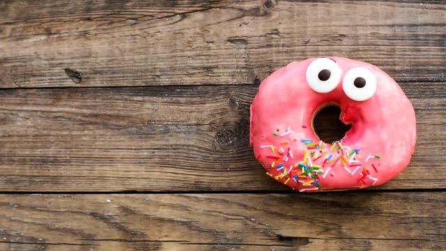 Donut mit Augen