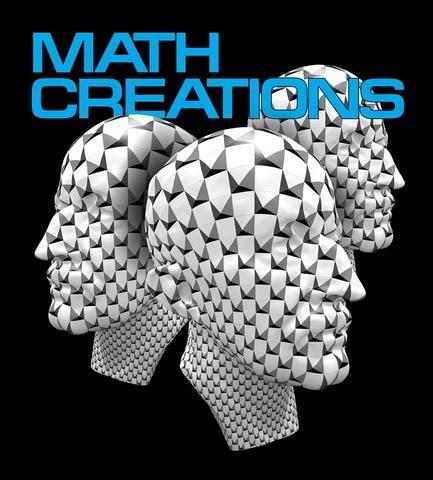 """Poster für den Wettbewerb """"Math creations"""""""