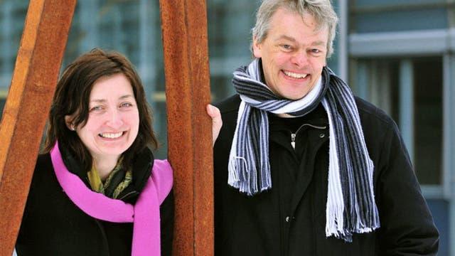May-Britt Moser und Edvard Moser