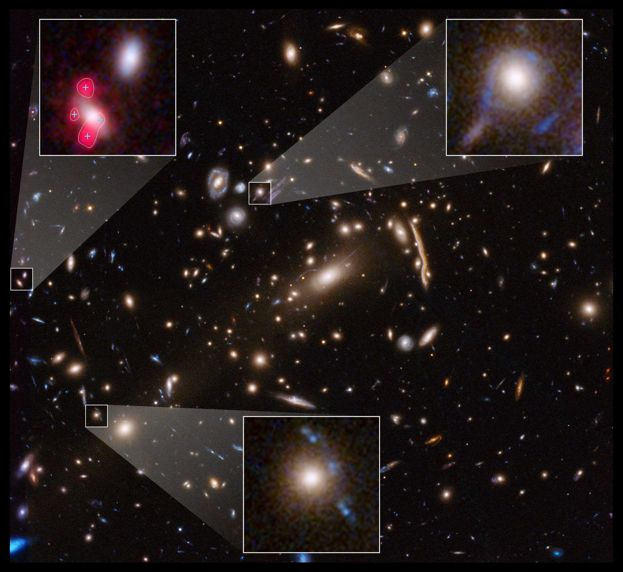 Galaxienhaufen MACSJ 1206