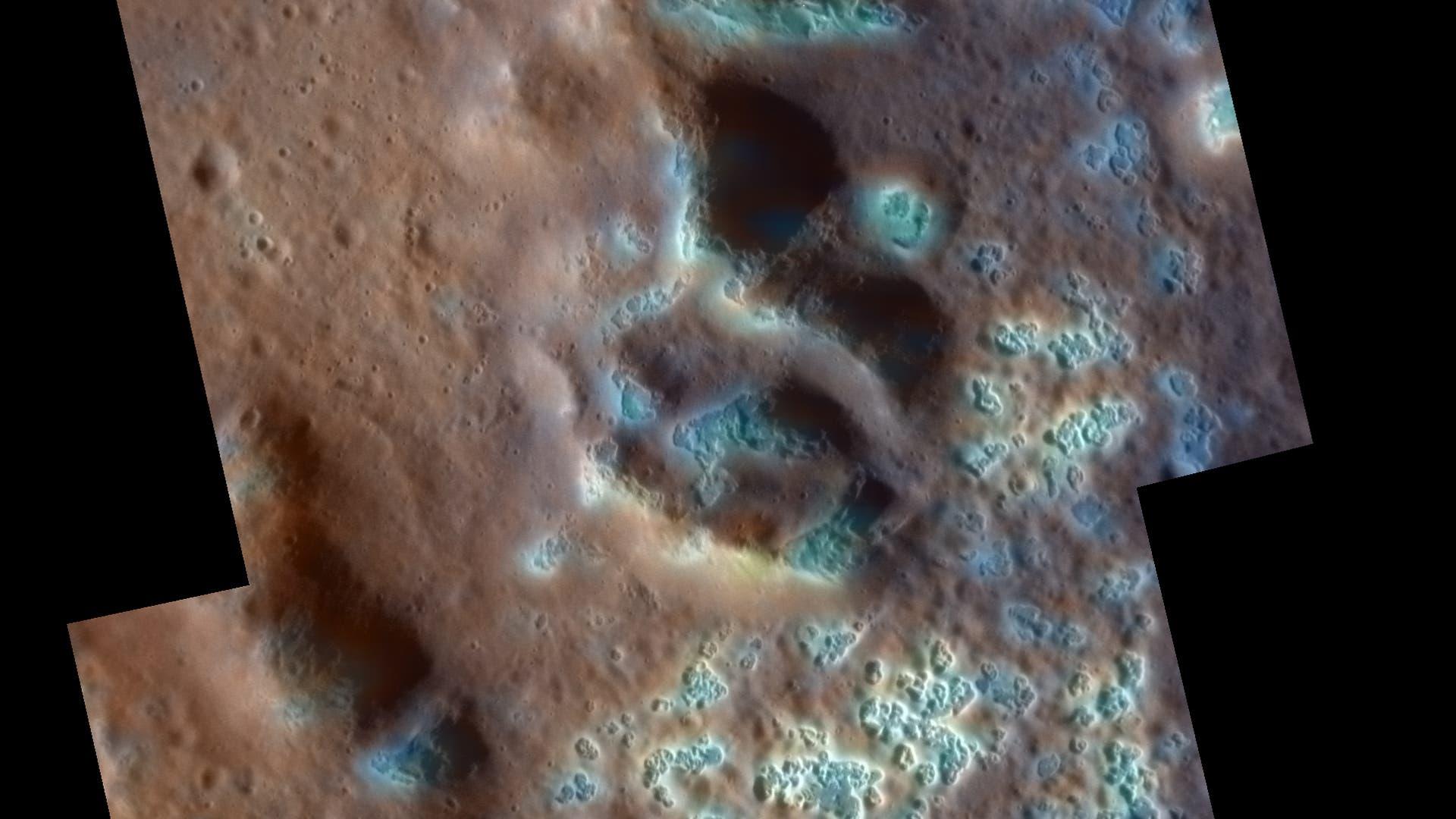Löcher auf Merkur