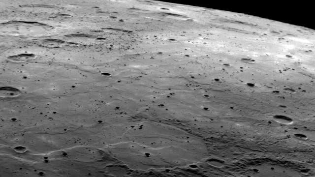 Merkur im Vorbeiflug von Messenger