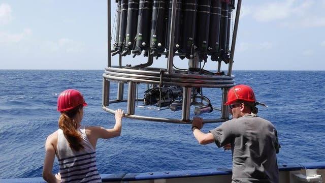 Meeresforschung an Bord der Meteor