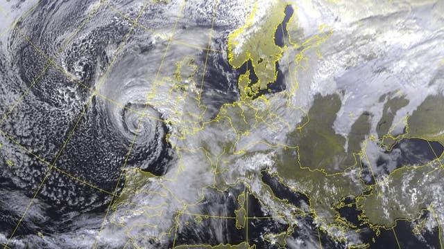 Wetter über Europa