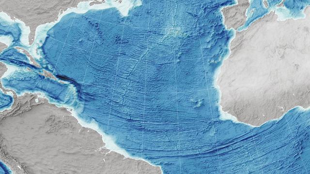 am Mittelatlantischen Rücken driften Nordamerika und Europa auseinander