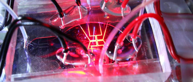 Mikrofluidik-Chip spielt Beethoven