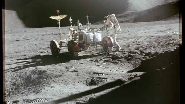 Unterwegs mit dem Mondauto