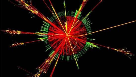 Schwarzes Loch im Atlas-Detektor