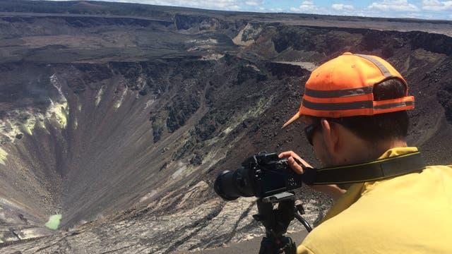 Kratersee am Kilauea