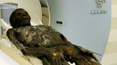 Mumie im CT