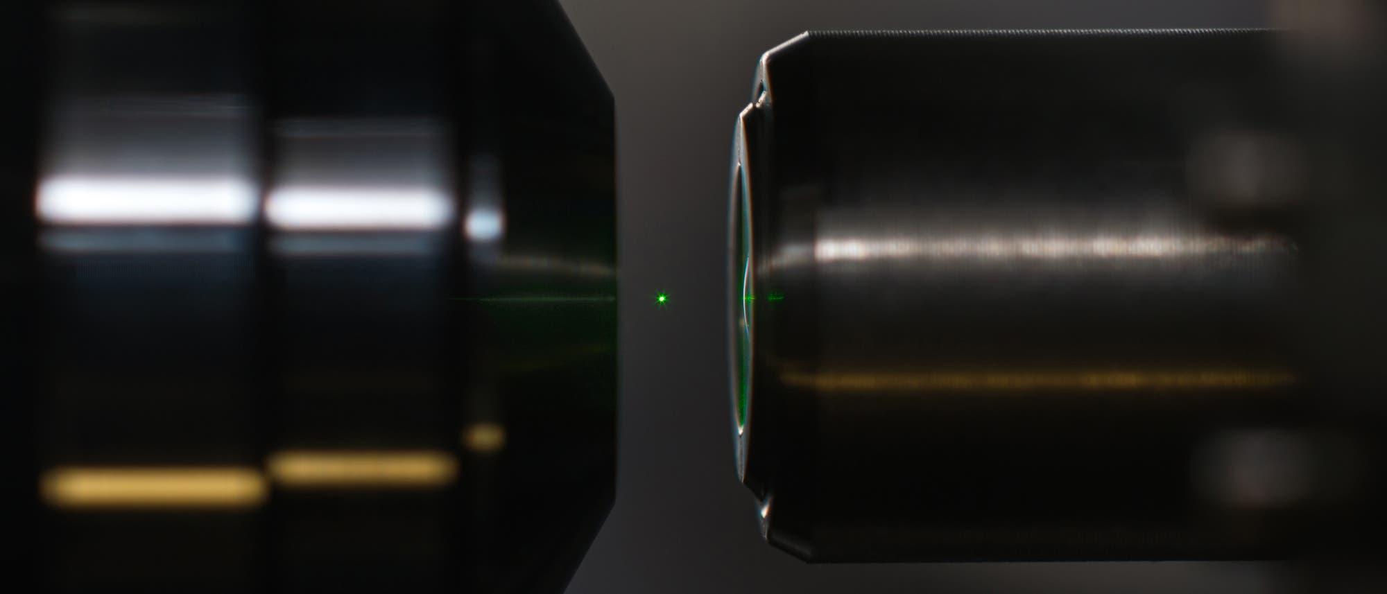 Levitierter Nanodiamant