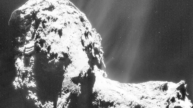 Komet 67P am 20. November 2014 (NavCam-Aufnahme) II
