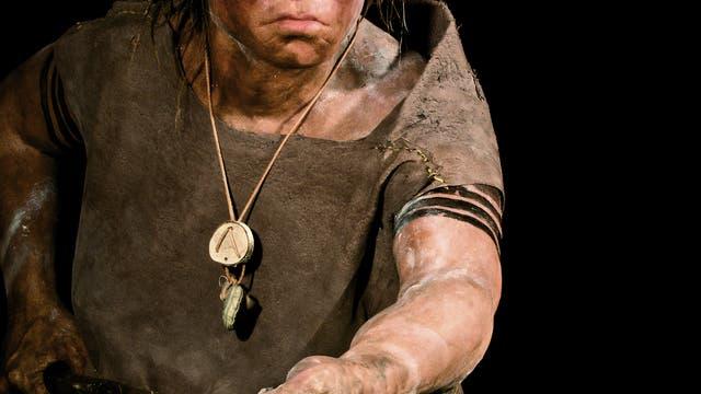 Neandertaler-Frau