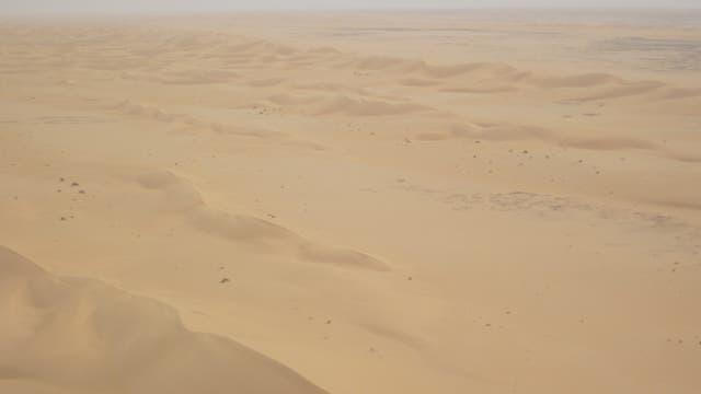 Dünenfeld in Nordmauritanien