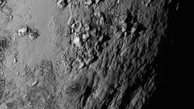 Oberfläche von Pluto