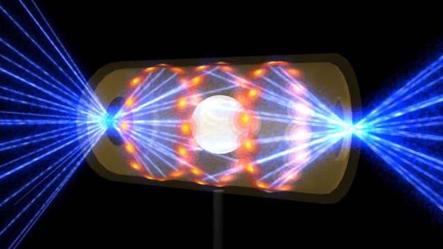 Lasergetriebene Trägheitsfusion