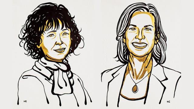 Chemie-Nobelpreisträgerinnen 2020