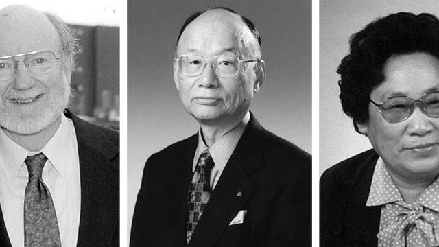 Die Preisträger des Medizin-Nobelpreises 2015