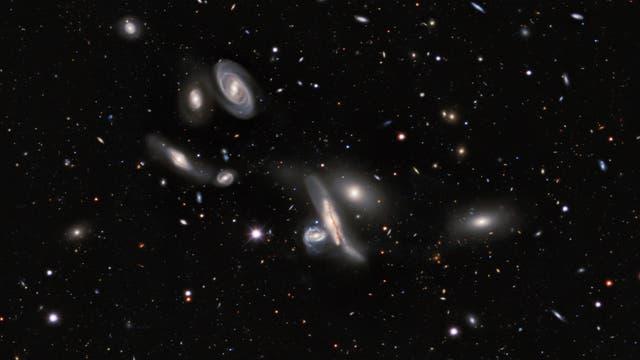 Galaxien, überall Galaxien