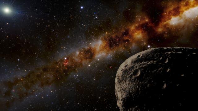 Kein bisher bekanntes Objekt ist so weit von unserer Sonne entfernt wie »Farfarout« (künstlerische Darstellung).