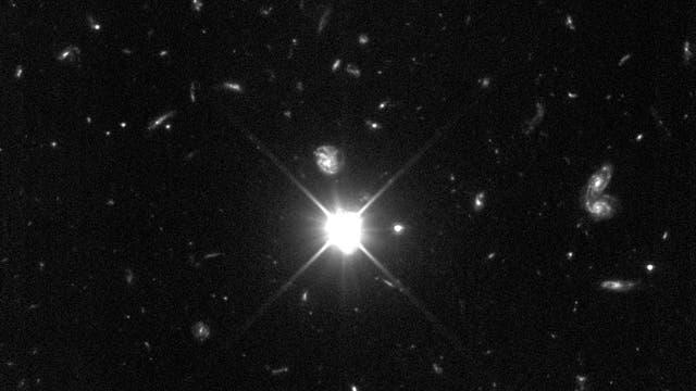 Quasar, aktive Galaxie, AGN