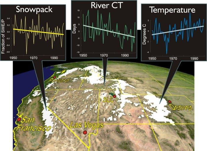 Klimawandel im Westen der USA