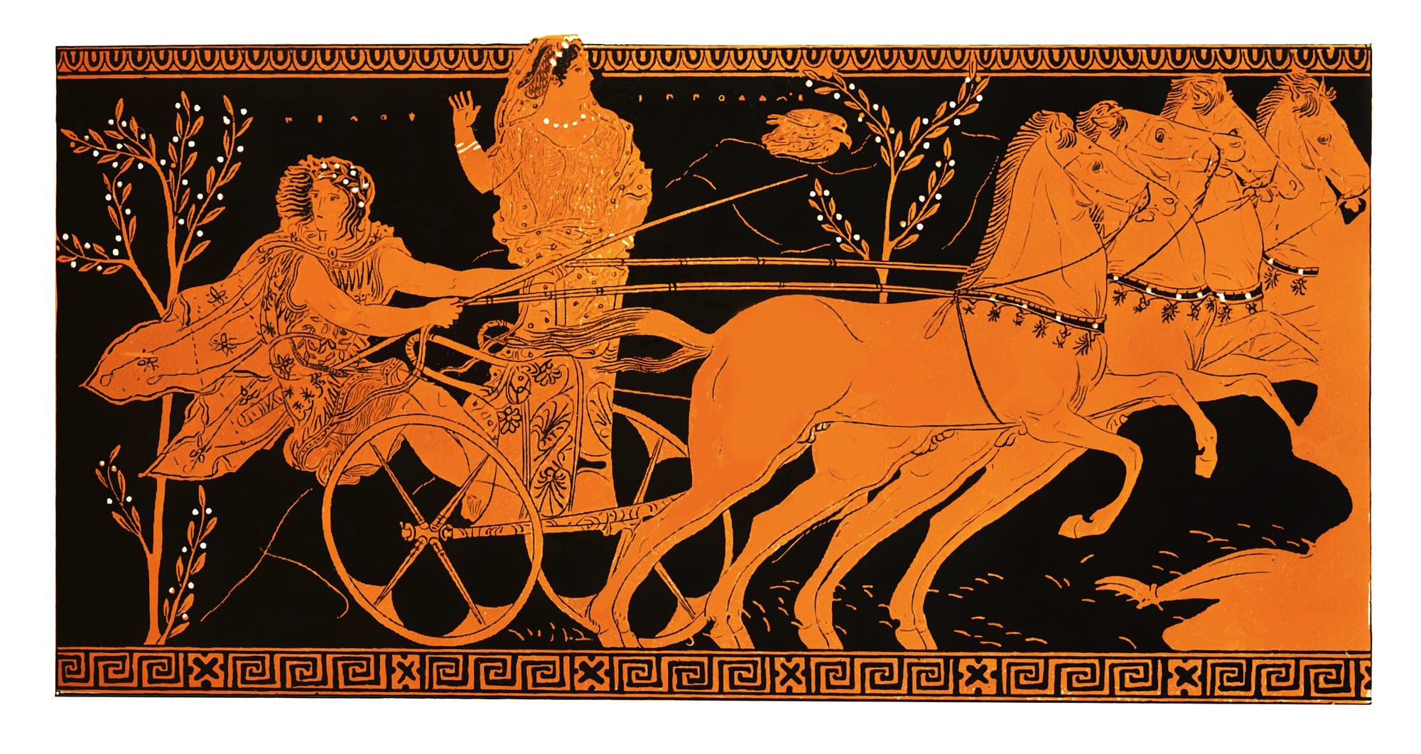 Pelops und Hippodameia