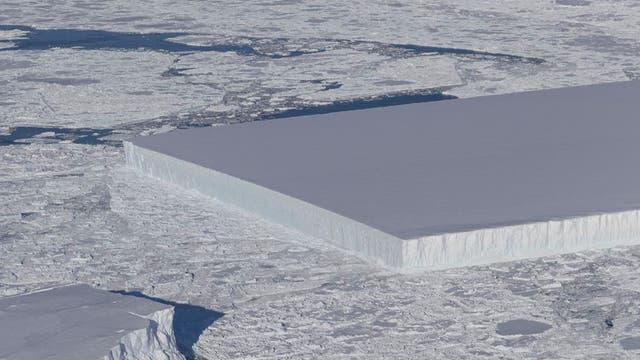Eis bei 90 Grad