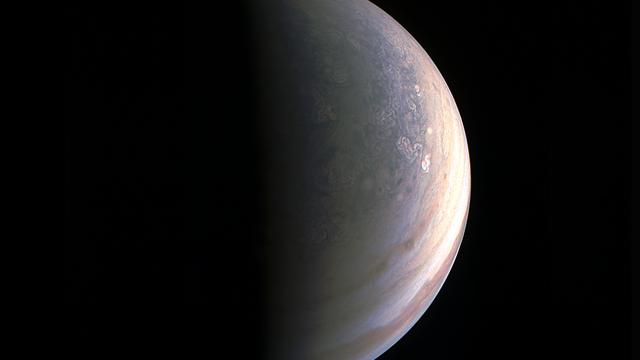 Jupiters Nordpol
