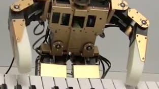 Weihnachts-Roboter