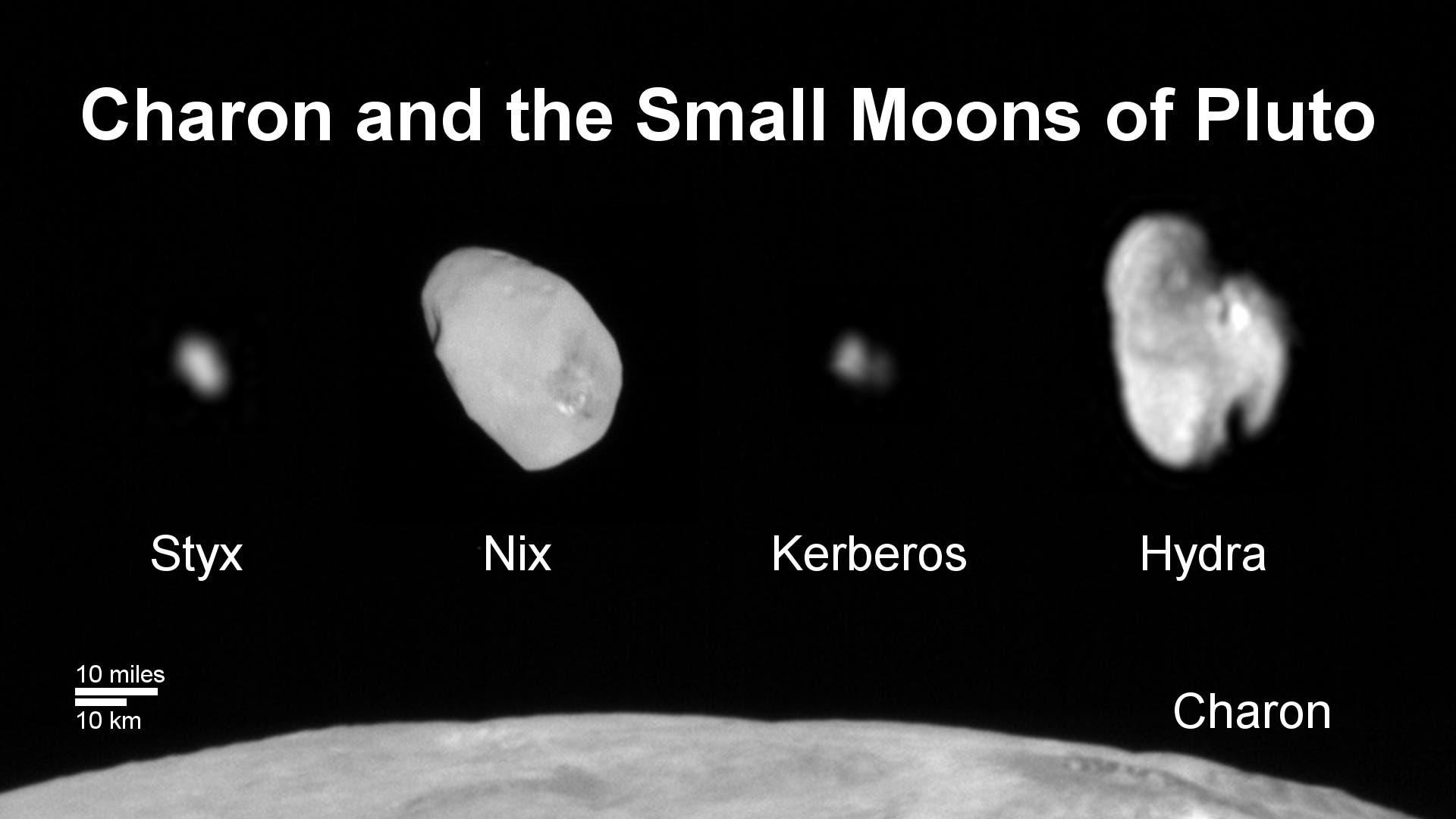 Die fünf Monde von Pluto (Familienporträt)
