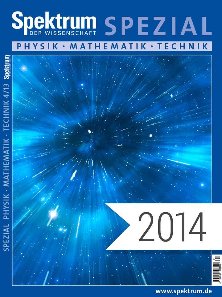 Spektrum der Wissenschaft Digitalpaket: Spezialreihe Physik-Mathematik-Technik Jahrgang 2014