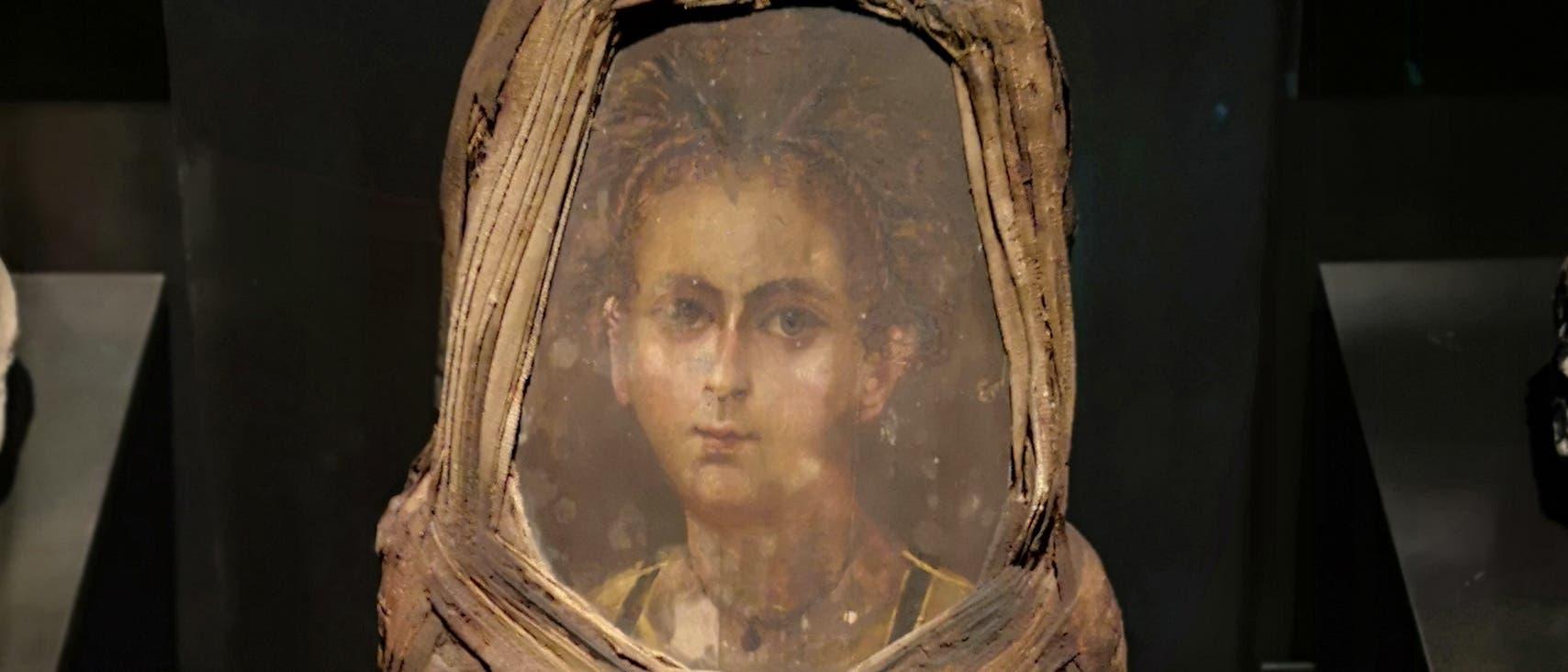 Das Münchner Mumienporträt datiert um die Zeit 80 n. Chr.