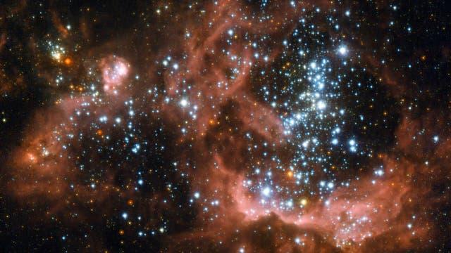 Die Sternentstehungsregion NGC604 in der Spiralgalaxie Messier 33