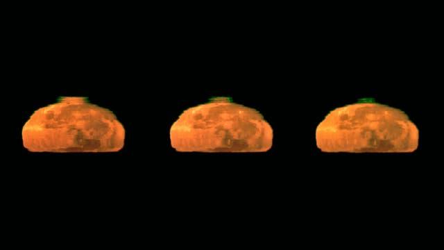 Krönung des Monduntergangs