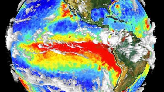 Extraterrestrischer Blick auf das Erdklima