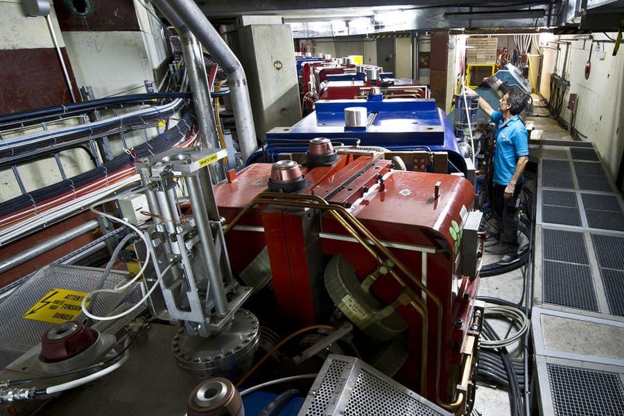 Antiproton-Decelerator am CERN