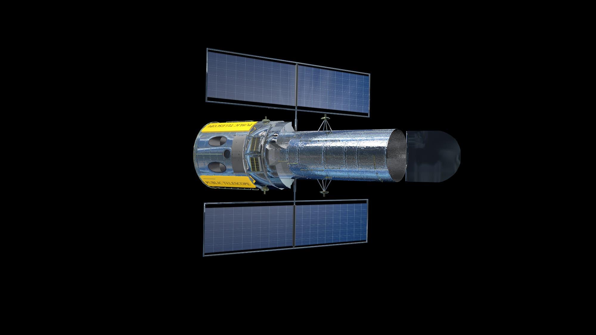 Das Projekt Public Telescope (künstlerische Darstellung)