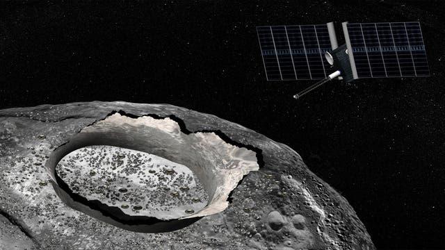 Flug zum Asteroiden Psyche