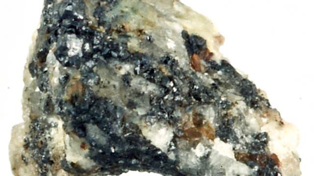 Gestein mit Quasikristallen