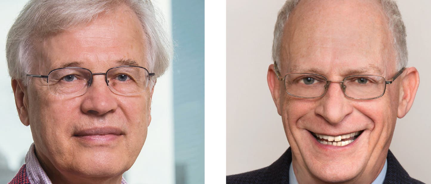 Bengt Holmström und Oliver Hart, Ökonomie-Nobelpreisträger 2016