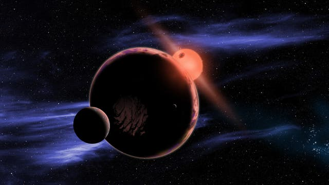 Planetensystem um Roten Zwerg