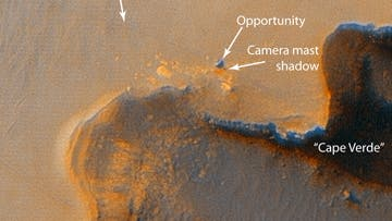 Opportunity am Victoria-Krater