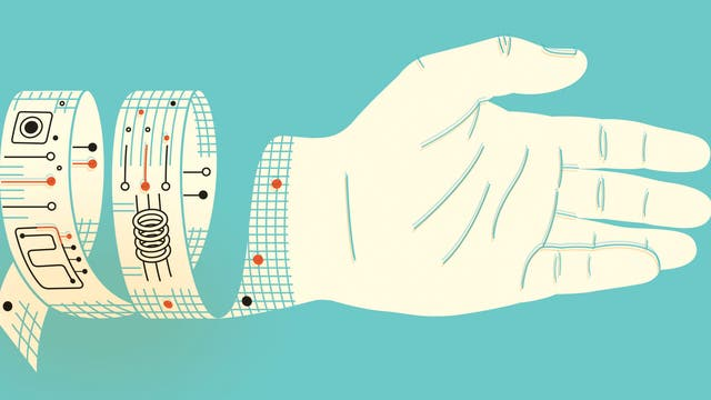Bandage aus Nanomaterial