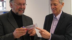 Hans Schöler und Reinhard Breuer