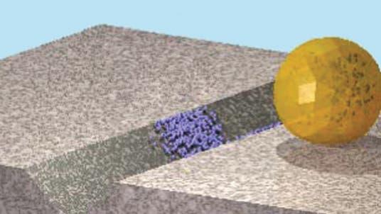 Nanopartikel reparieren Mikroriss